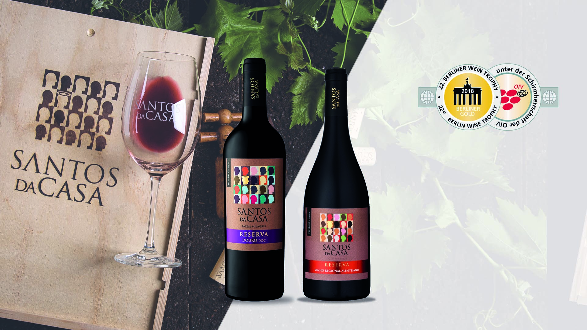 Santos da Casa receives Gold in the Berliner Wine Trophy contest