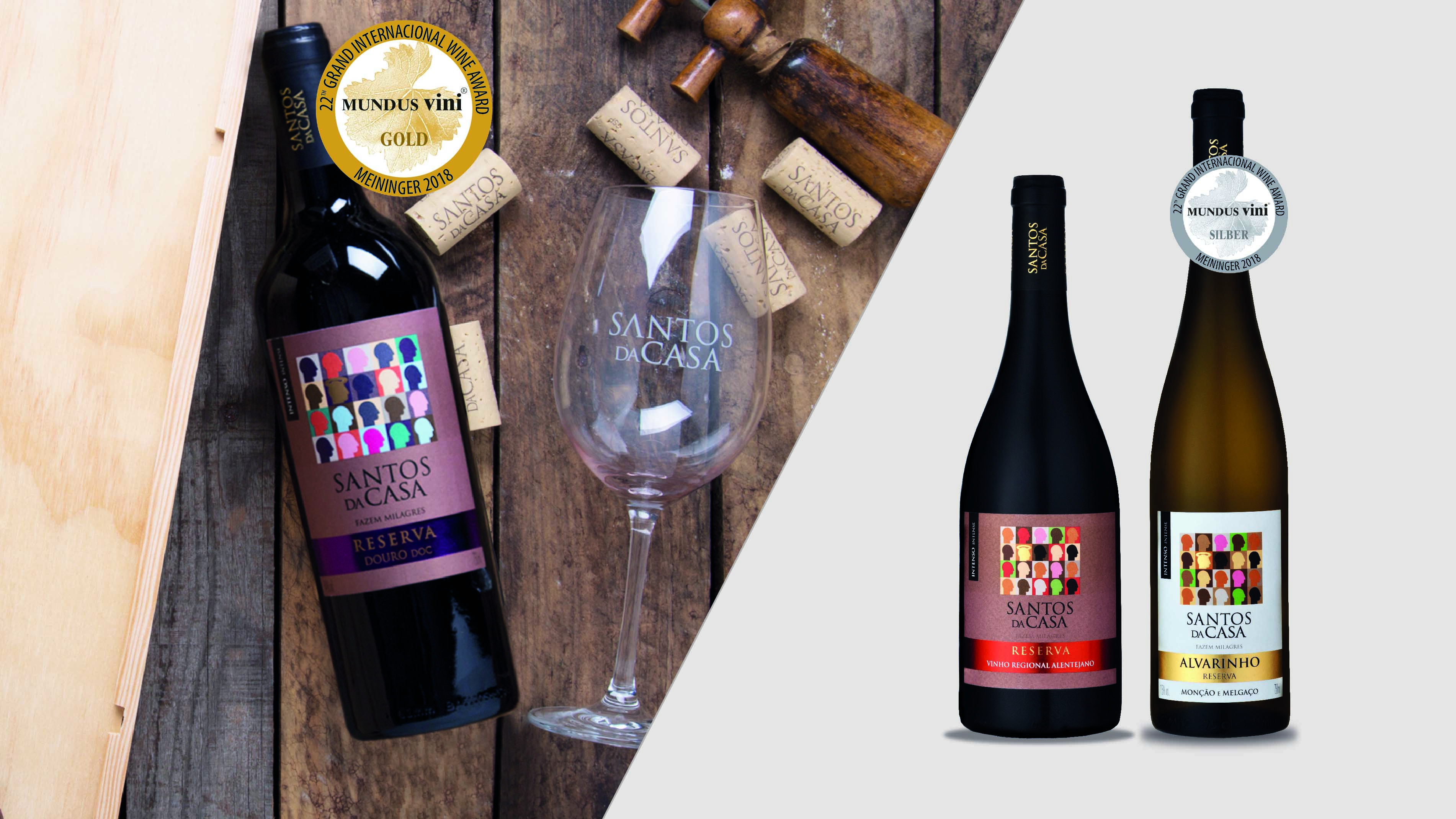 Gold in Mundus Vini contest