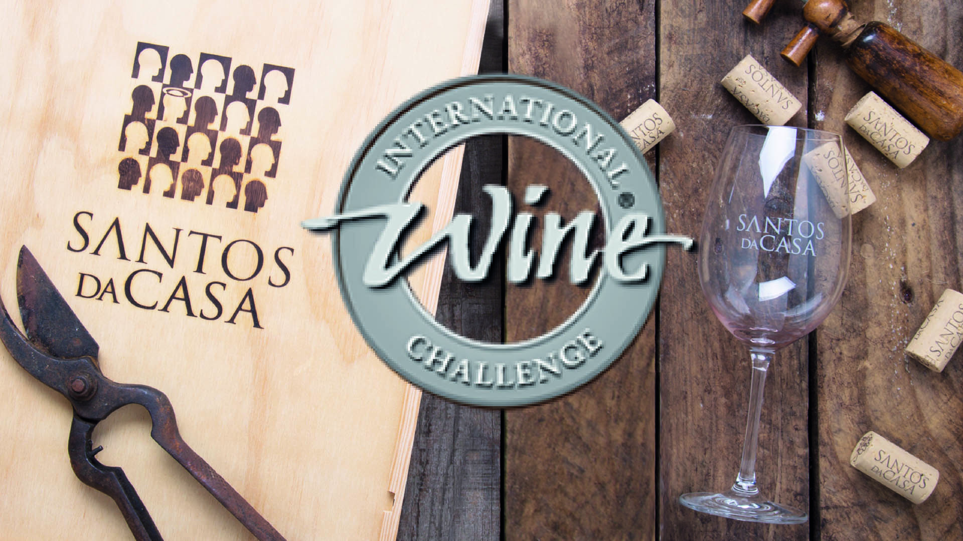 4 Medalhas no International Wine Challenge