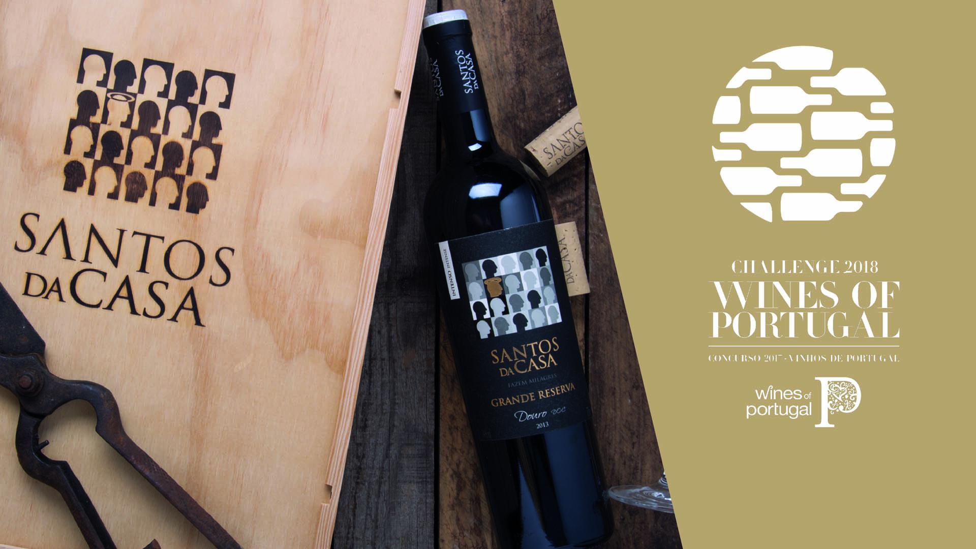 Ouro e Prata no Concurso de Vinhos de Portugal
