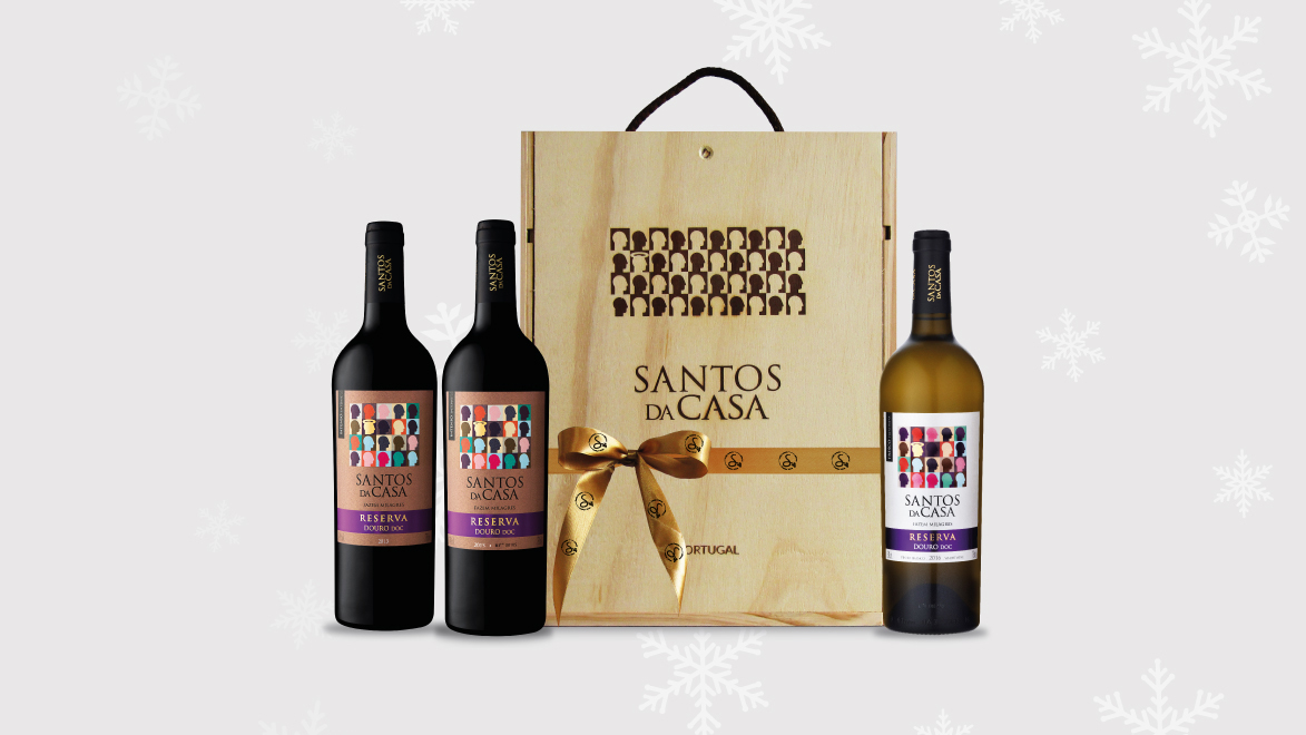 This Christmas celebrating with Santos da Casa Wines