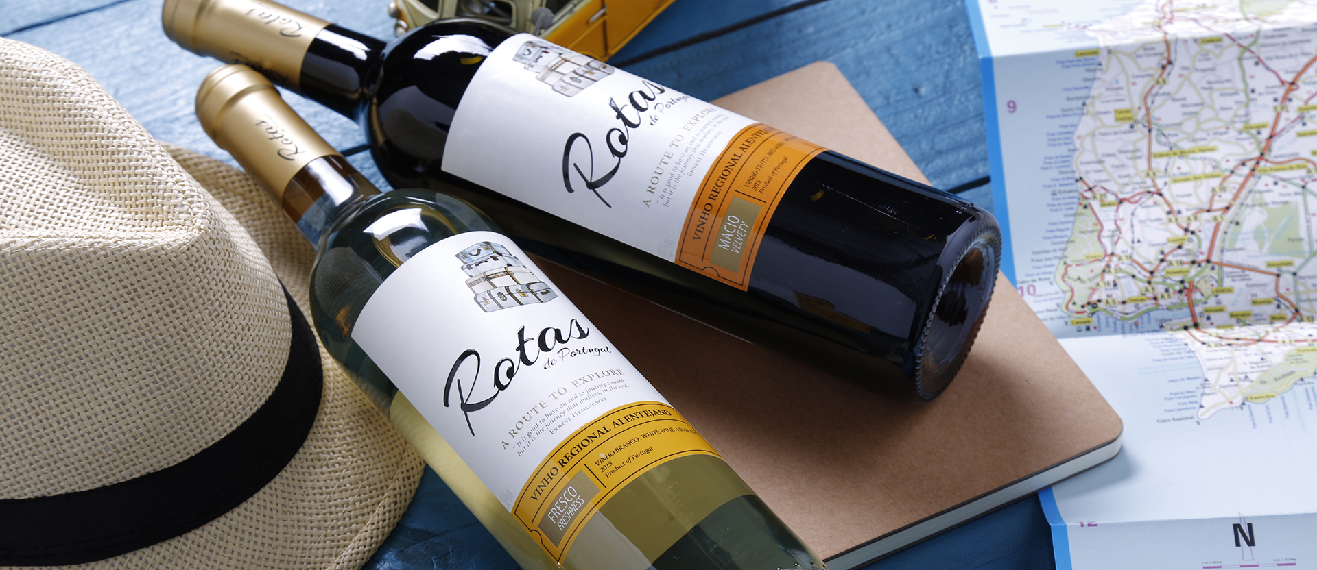 Rotas de Portugal on Packaging of the World