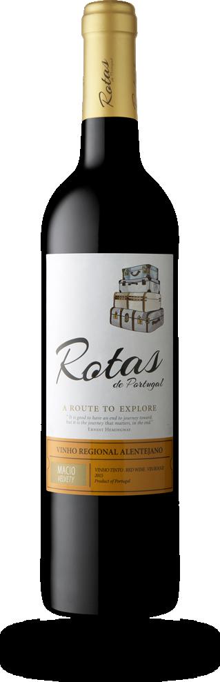 Rotas de Portugal Vinho Regional Alentejano tinto