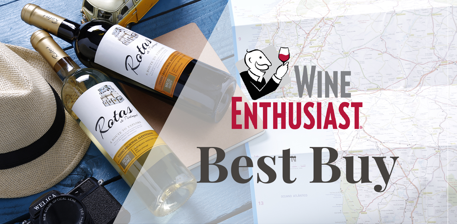 Rotas de Portugal receive Best Buy by Wine Enthusiast