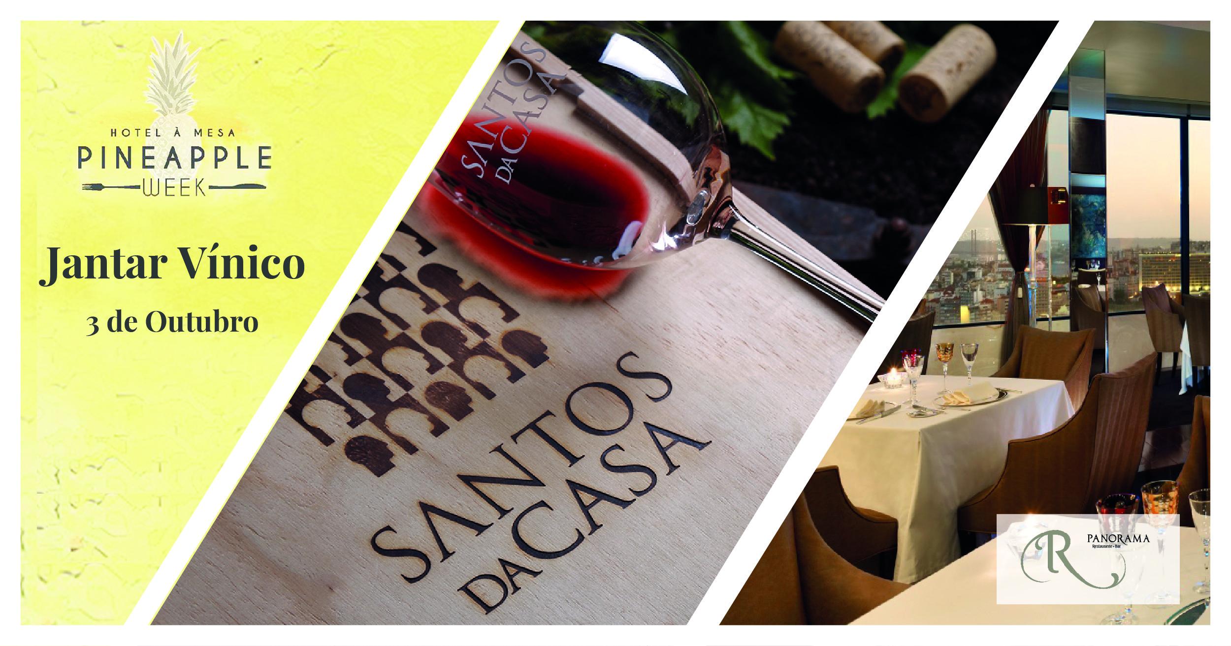 Jantar Vínico dos vinhos Santos da Casa