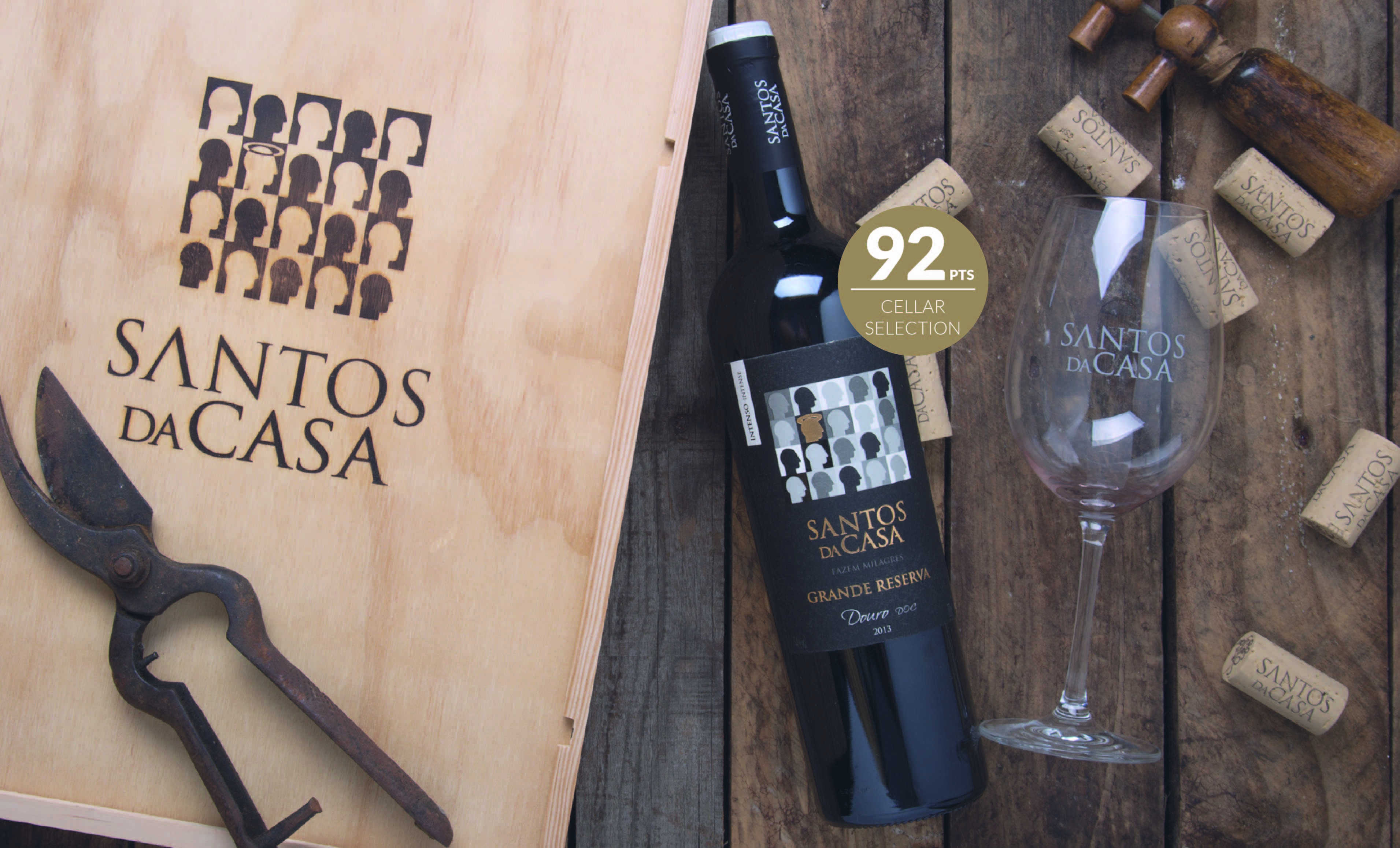 Santos da Casa Grande Reserva Douro distinguished in Wine Enthusiast