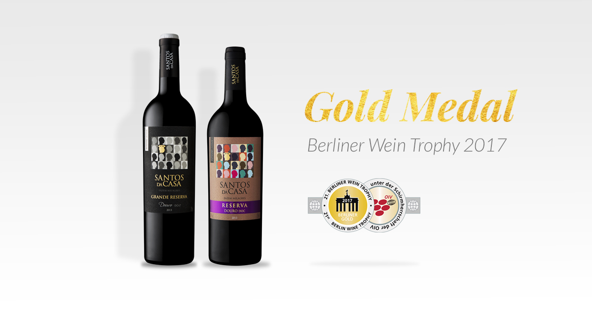 Gold for the Santos da Casa at the Berlin Wine Trophy