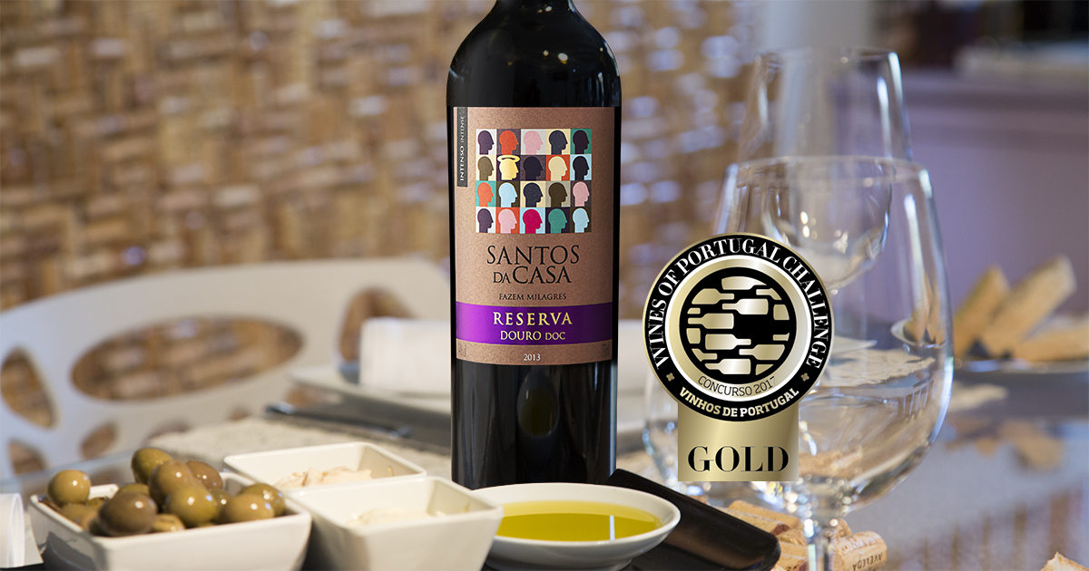 Santos de Casa Reserva Douro receives another Gold medal
